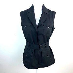 JM Reed Belted Vest